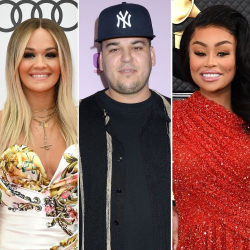 See Rob Kardashian's Complete Dating History Over the Years - Rita Ora, Blac Chyna and More