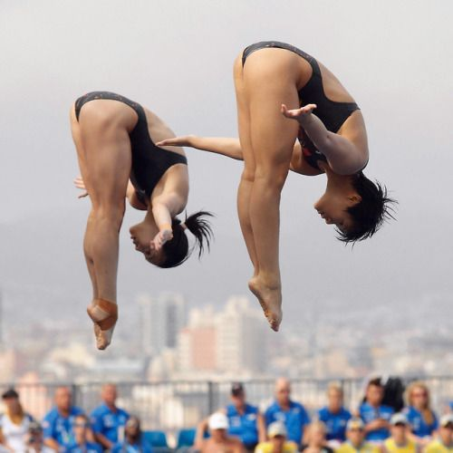 Olympic88: Wu Minxia and Shi Tingmao 2013 FINA World