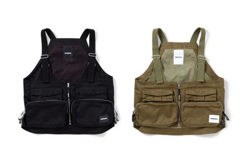 NEIGHBORHOOD Releases Earthy PACK C-VEST Series