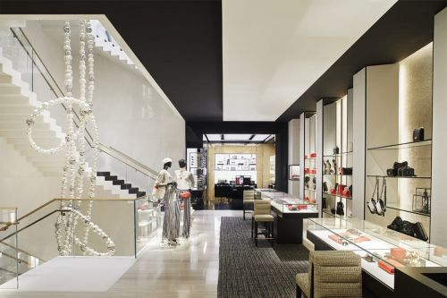 Chanel's Newest Flagship Features Exclusive Merchandise and a 60-Foot-Tall Pearl Necklace