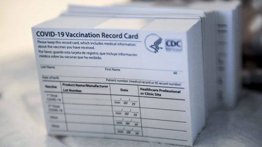 FBI Warns Against Making and Selling Fake Vaccination Cards