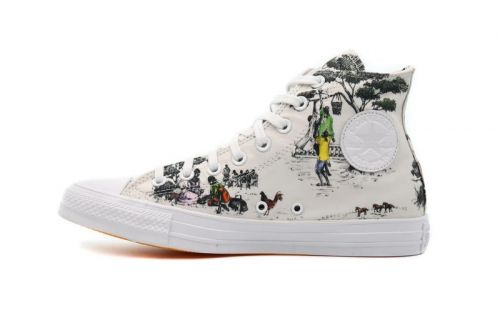Union x Converse Chuck Taylor All Star Hi Is Covered in Tapestry-Style Illustrations
