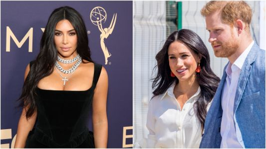 Kim Kardashian Publicly Supports Meghan Markle and Prince Harry: ' Changing the World'