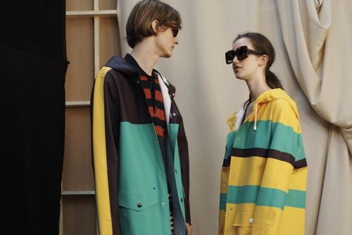 Marni and Stutterheim Reveal Second Color Blocked Collaboration