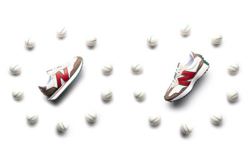 """Casablanca and New Balance Officially Unveils the 237 and 327 """"Red Monogram"""" Pack"""