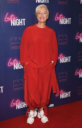 Emma Thompson Rocking the Ugly Sneaker Trend on the Red Carpet Is My New Aesthetic