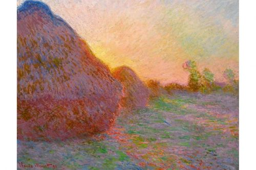Claude Monet's 'Meules' Painting Sells for Record-Breaking $110.7 Million USD