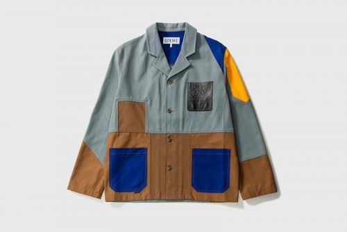 Check Out LOEWE's Brightly-Colored Take on the Workwear Jacket