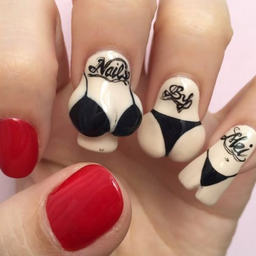 From breasts to bows nailsbymei's nail art will blow your mind