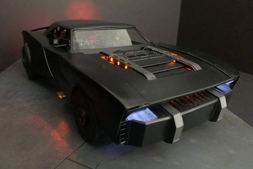 Images of the Concept Model for 'The Batman' Batmobile Surface