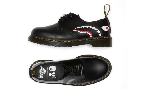 BAPE and Mastermind JAPAN Team With Dr. Martens for a 1461 Oxford Collaboration