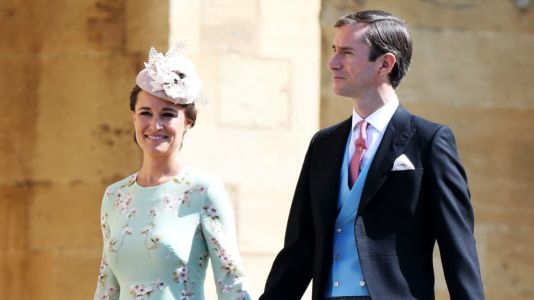 Pippa Middleton Wears London-Based Contemporary Label The Fold to Meghan Markle and Prince Harry's Wedding