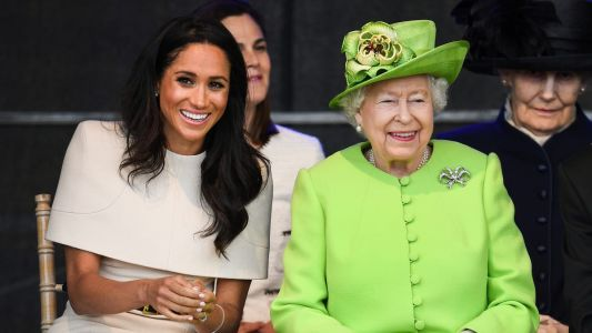 Meghan Markle Wore a Thing: Bespoke Givenchy Dress Edition