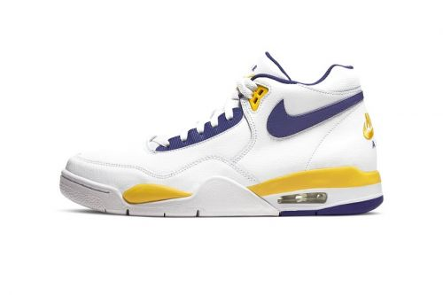 The Nike Air Flight Legacy Receives a Purple & Gold Makeover