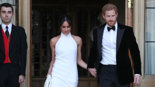 Elton John Performs At Meghan Markle & Prince Harry's Wedding Luncheon