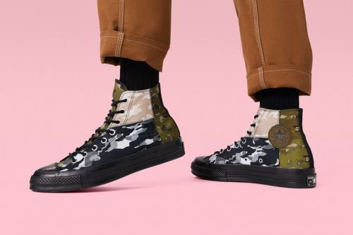 Converse Adds Blocked Camo Prints to the Chuck 70 High