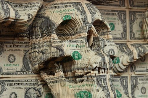 Scott Campbell Carves New Sculptures Using US Dollar Bills For First Asia Show