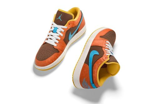"""Carmelo Anthony's 1-of-1 Air Jordan 1 Low """"Baltimore Crab"""" Nods to His Hometown"""
