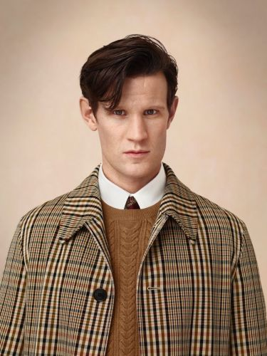 Matt Smith Reunites with Burberry for Holiday '18 Campaign