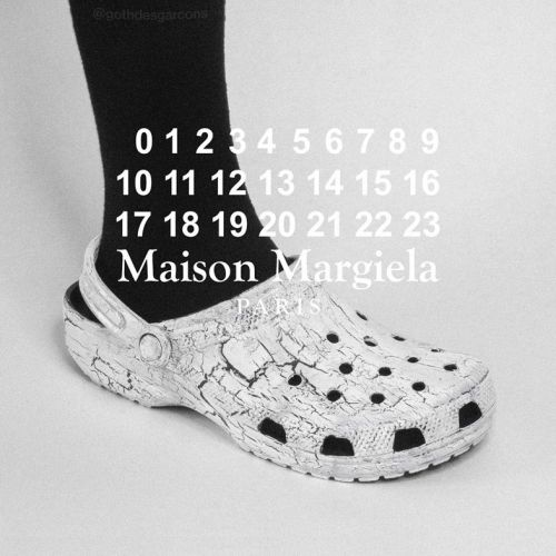 The label behind the 'Goth Croc' just dropped a Margiela-inspired version
