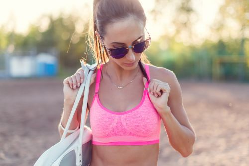 Sexy lingerie is being replaced by sports bras