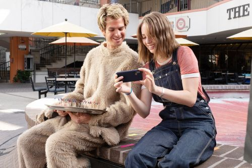 Gia Coppola tells all about Andrew Garfield's 'Mainstream' fake penis