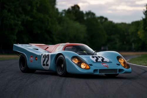 The 1970 Porsche 917 K From Steve McQueen's 'Le Mans' Is up for Auction