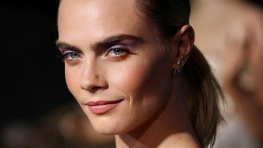 Cara Delevingne Wore Her Own Version of 'Euphoria' Eyes on the Red Carpet