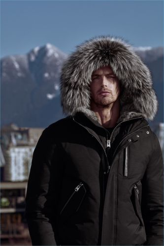 Christian Hogue Heads to Vancouver, Canada for Mackage Fall '18 Campaign