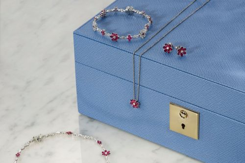 Harry Winston's new Forget-Me-Not jewels mix diamonds and rubies