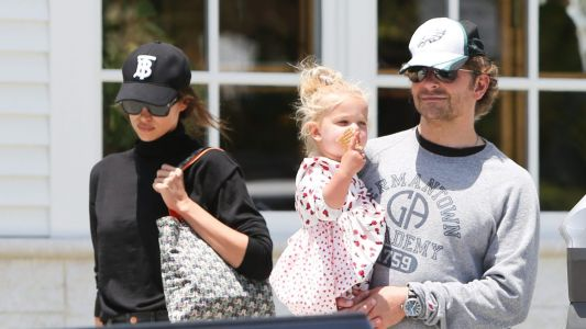 Family Fun! Bradley Cooper Spotted Out in L.A. With Irina Shayk and Their Daughter Lea