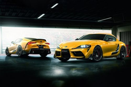 Toyota Previews Its Performance TRD Parts for the 2020 Toyota Supra