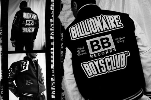 Black Butter Records Celebrates 10 Years With Billionaire Boys Club EU Team Varsity Jacket Collab