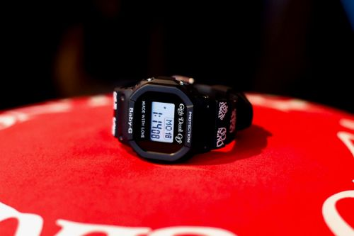 Girls Don't Cry & Baby-G Unveil Limited-Edition Timepiece