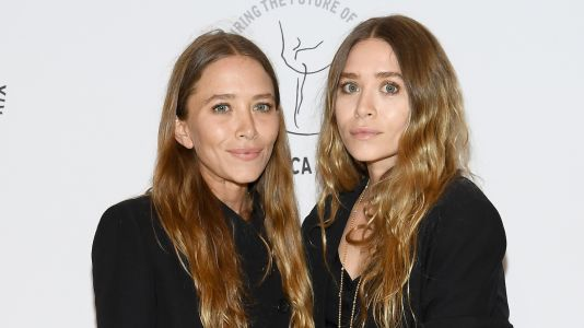 Mary-Kate and Ashley Olsen Make Rare Public Appearance and *Gasp* We Spot a Pop of Color
