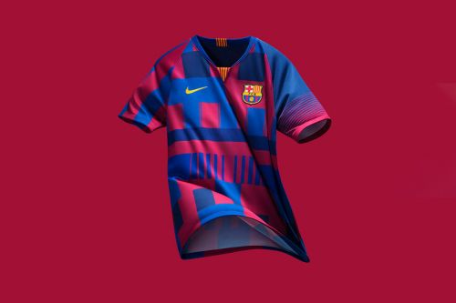 Nike Celebrates 20 Years of Working With FC Barcelona With New Jersey