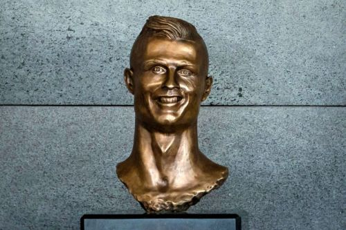 "Madeira Airport Replaces ""Grotesque"" Ronaldo Bust After Family Request"