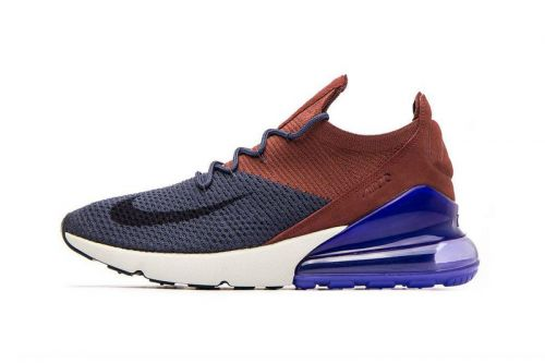 """Nike Releases the Air Max 270 Flyknit in """"Thunder Blue"""""""