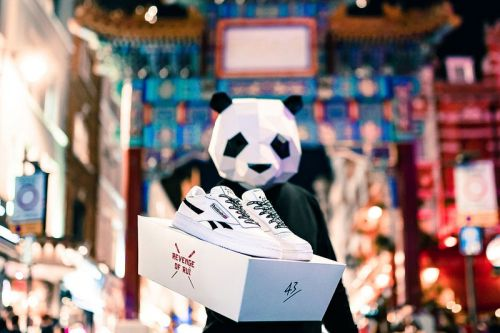 43einhalb & Reebok Celebrate Panda Ruì Bù With New Club C Collab