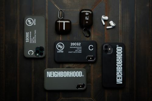 CASETiFY Taps NEIGHBORHOOD For its Latest co-lab Collection