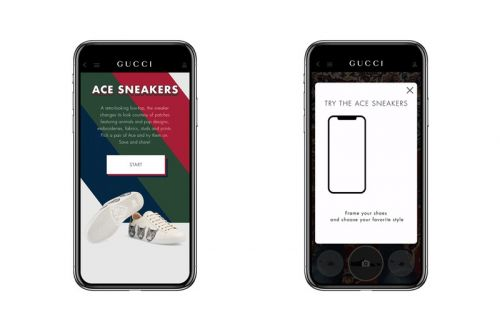 Gucci Beefs Up Tech With Augmented Reality App for Shoes