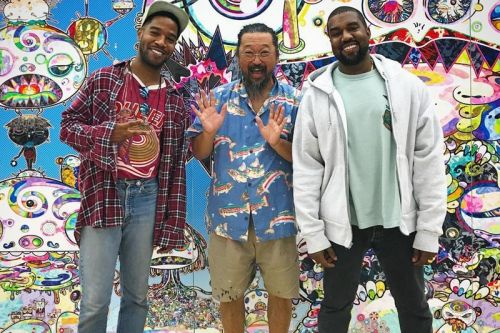 Kanye Teases Possible Murakami-Designed Cover Art for 'Kids See Ghosts'