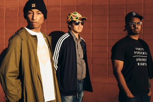 Pharrell Williams & N.E.R.D Discuss Music and Politics With 'New York Times'