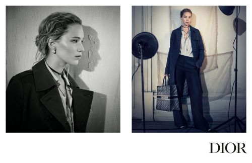 Jennifer Lawrence Stars In Dior's Fall 2018 Campaign