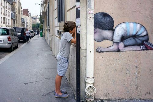 Seth Globepainter Invades Paris with New Interactive Murals