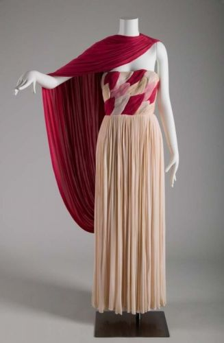 Evening Dress Madame Grès1959 Chicago History Museum