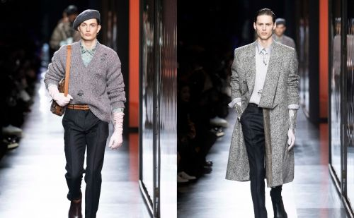Dior AW20 bringing a London twist to Parisian menswear