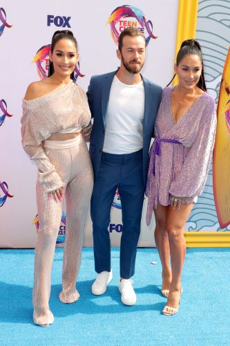 Sweet Fam! Nikki Bella and Artem Chigvintsev Make Dinner for Brie and Personally Deliver It