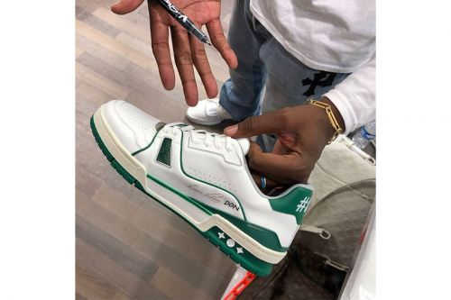 Virgil Abloh Gifts Special Louis Vuitton Low Sneakers to Don C