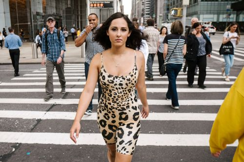 I wore that ridiculous skintight romper through the streets of Manhattan